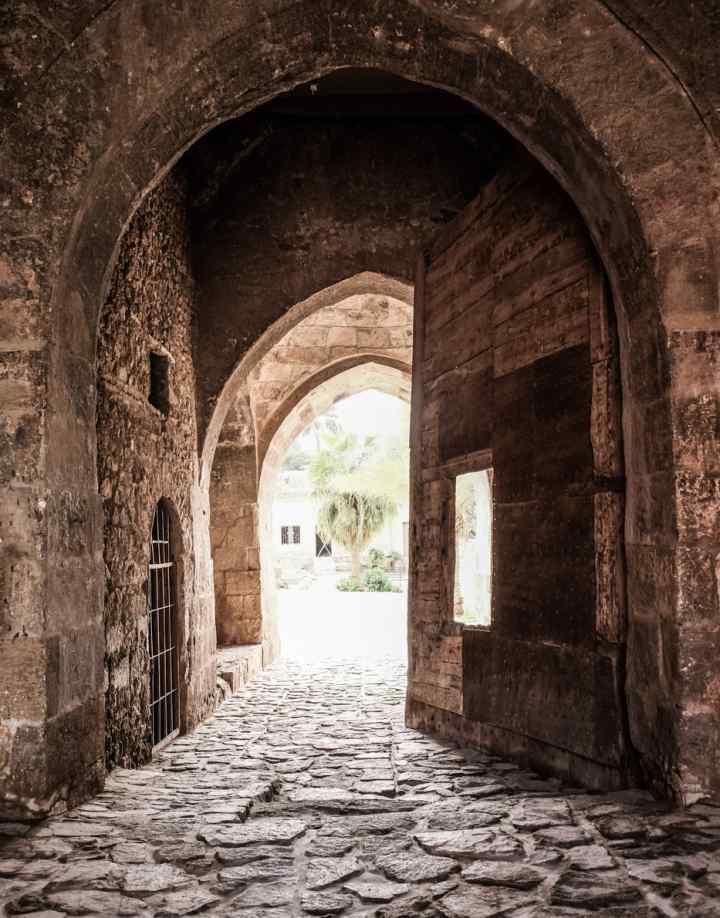Aqaba castle gate